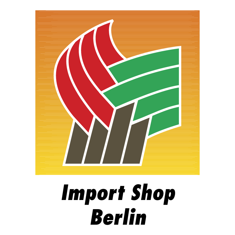 Import Shop Berlin vector