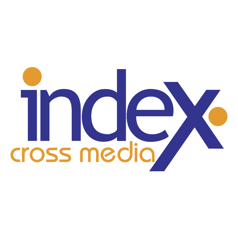 Index Cross Media vector logo