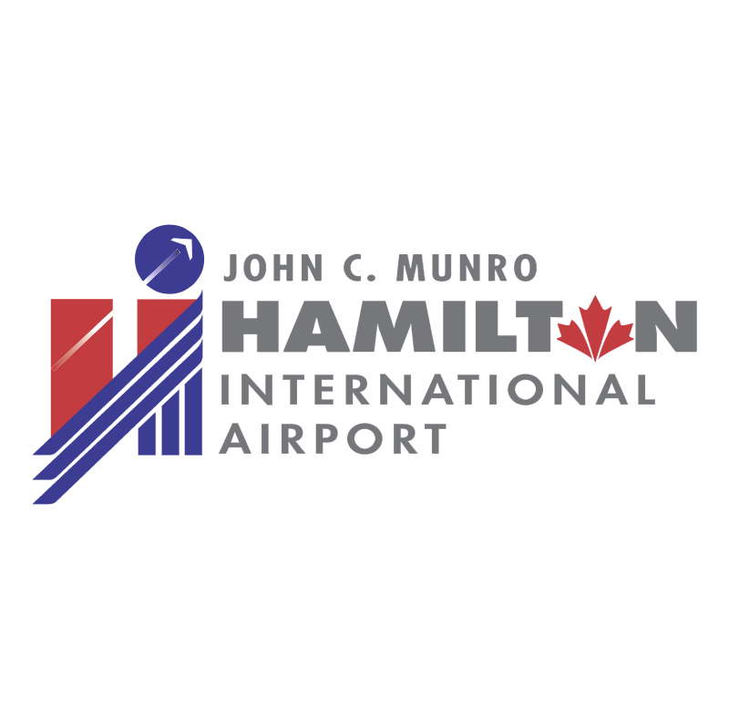 John C Munro Hamilton International Airport vector