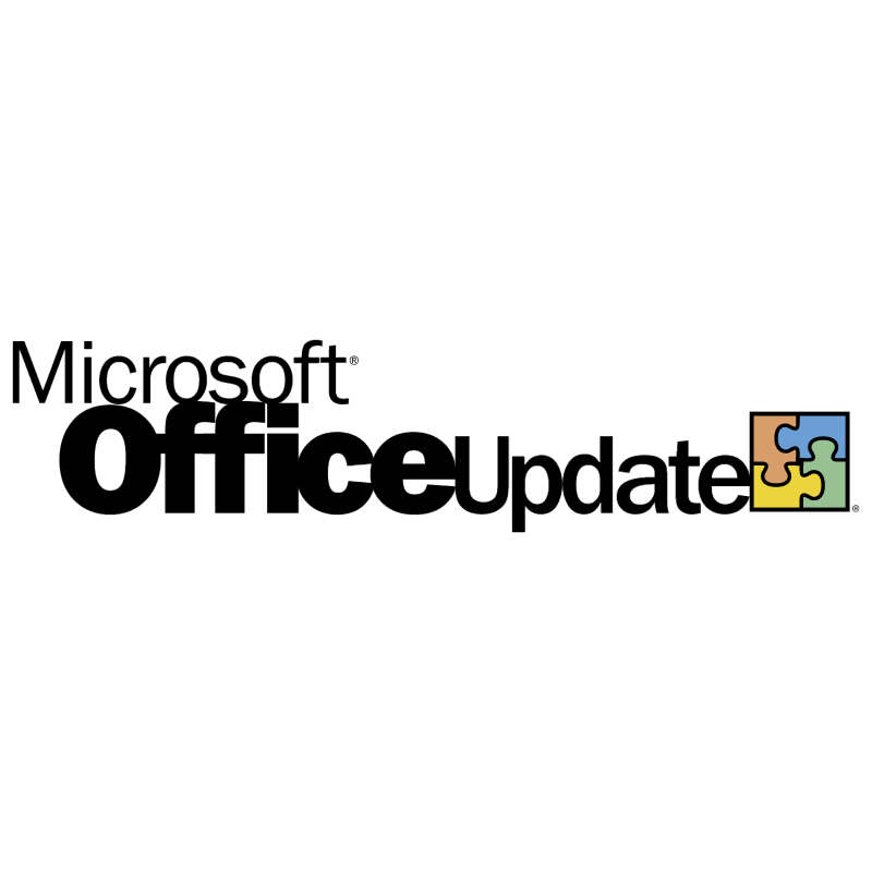 Microsoft Office Update vector