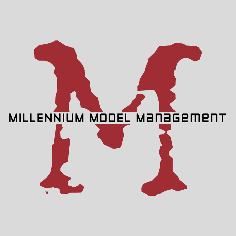 Millennium Models Management vector logo