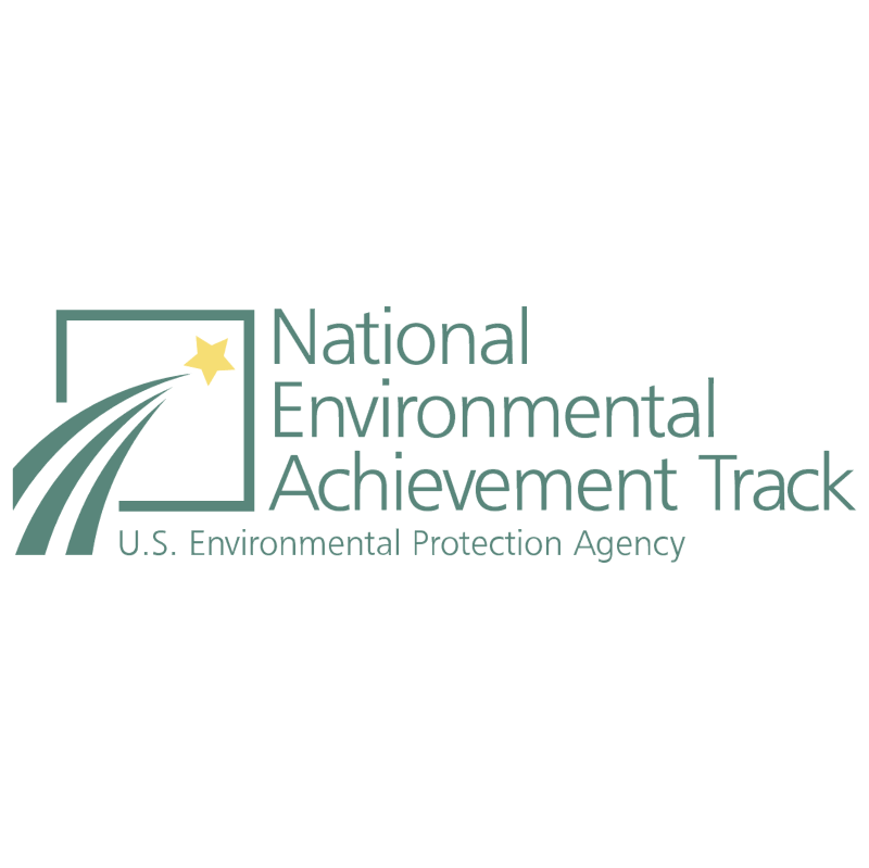 National Environmental Achievement Track vector