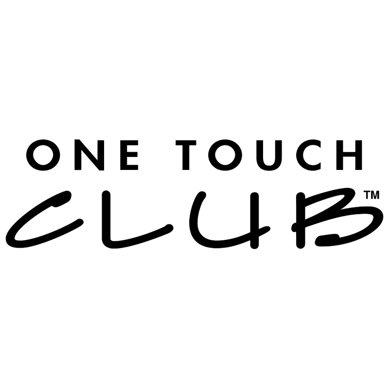 One Touch Club vector
