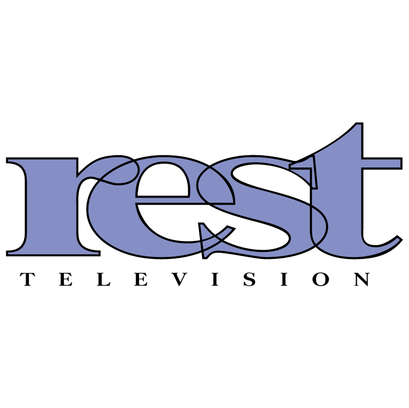 Rest TV vector