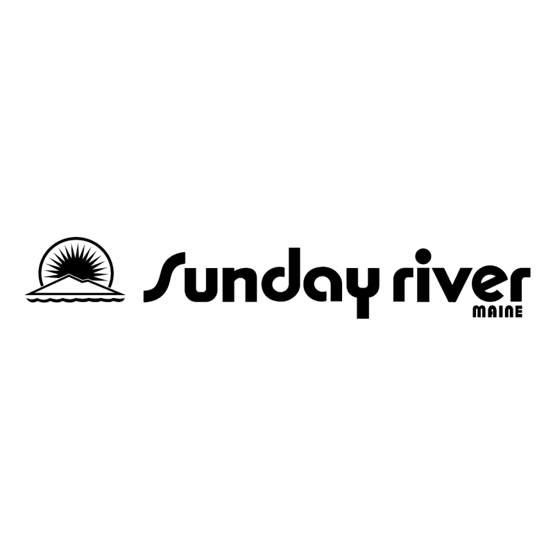 Sunday River vector