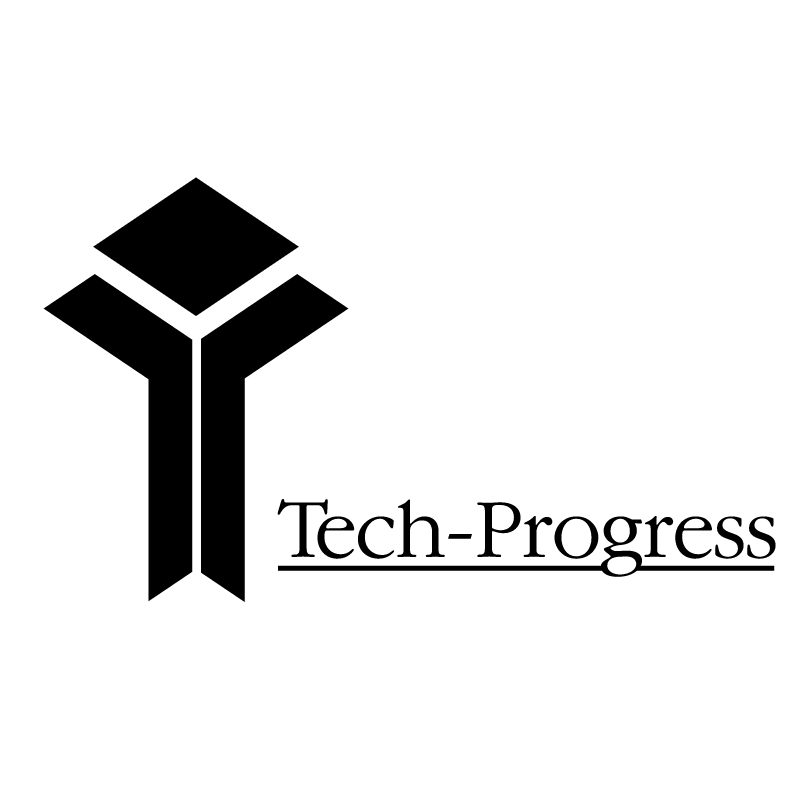Tech Progress vector logo