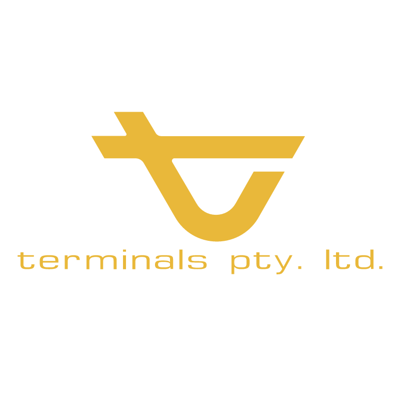 Terminals Pty Ltd vector logo