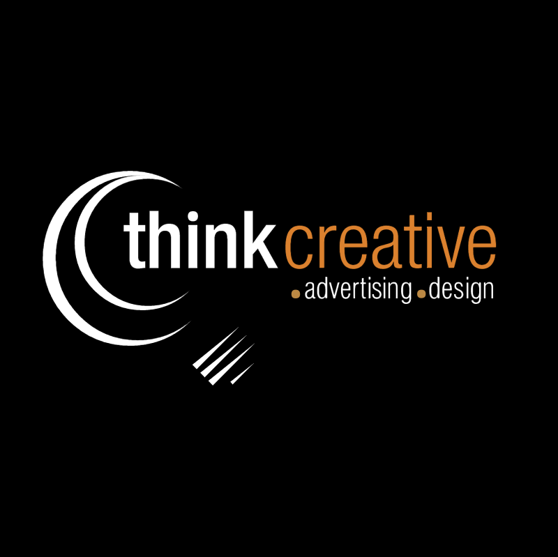 Think Creative Design vector
