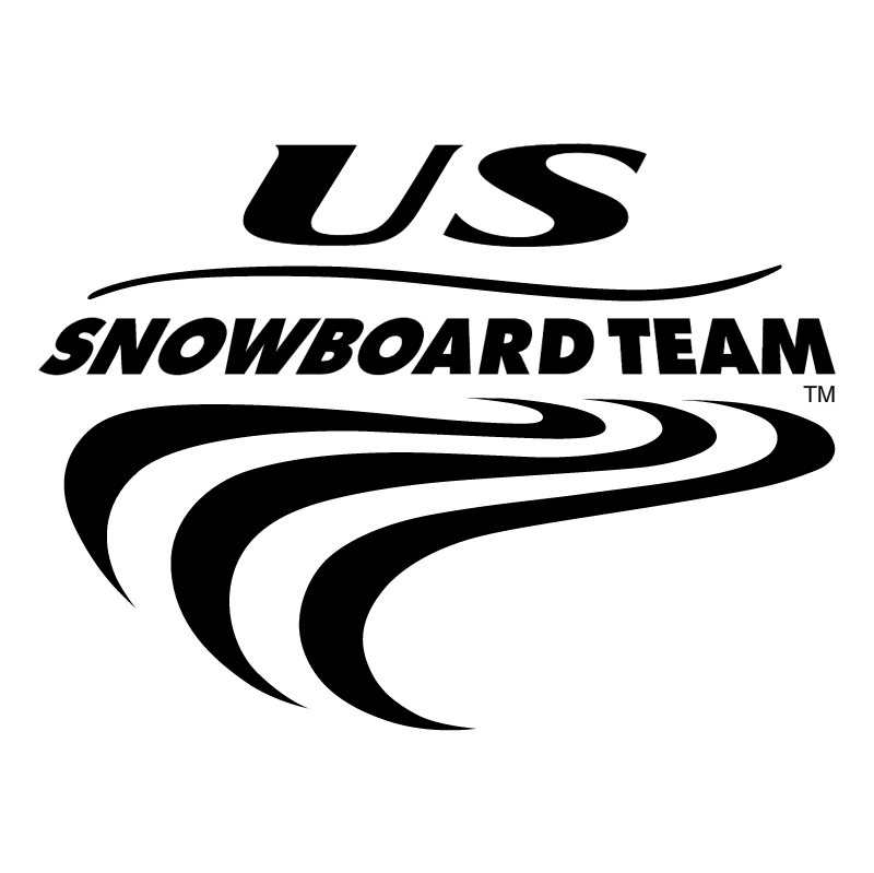 US Snowboard Team vector logo