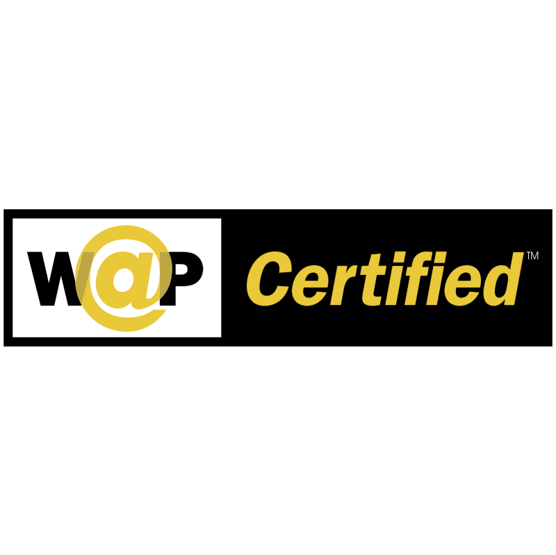 WAP Certified vector logo