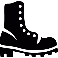 Big boot vector