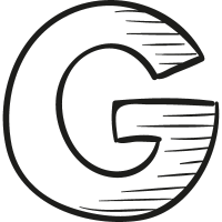 Glogster Draw Logo vector