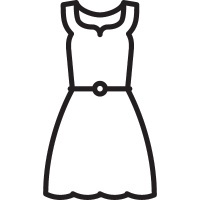 Long Dress vector