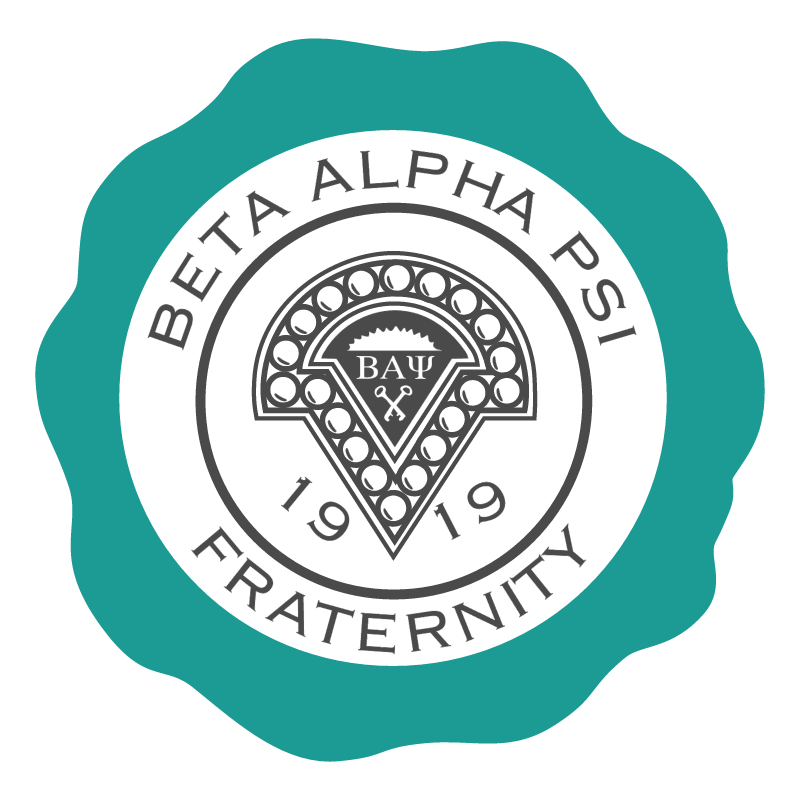 Beta Alpha PSI Fraternity vector