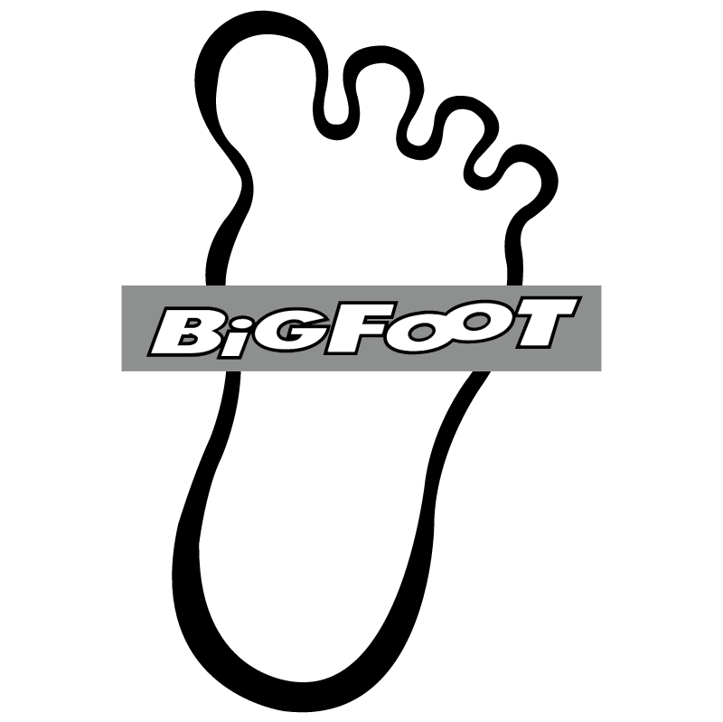 BigFoot vector logo