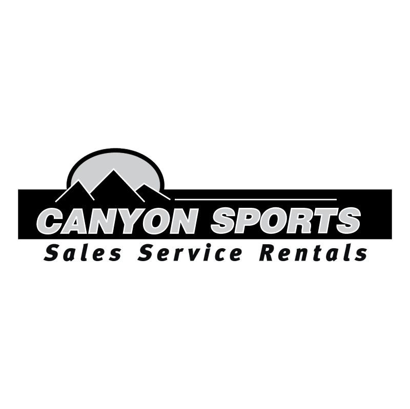 Canyon Sports vector