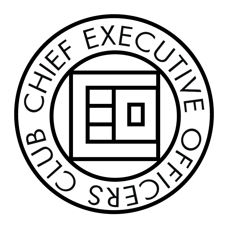 Chief Executive Officers Club vector logo