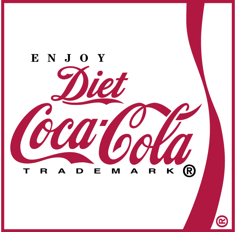 Coca Cola Diet 3 vector logo