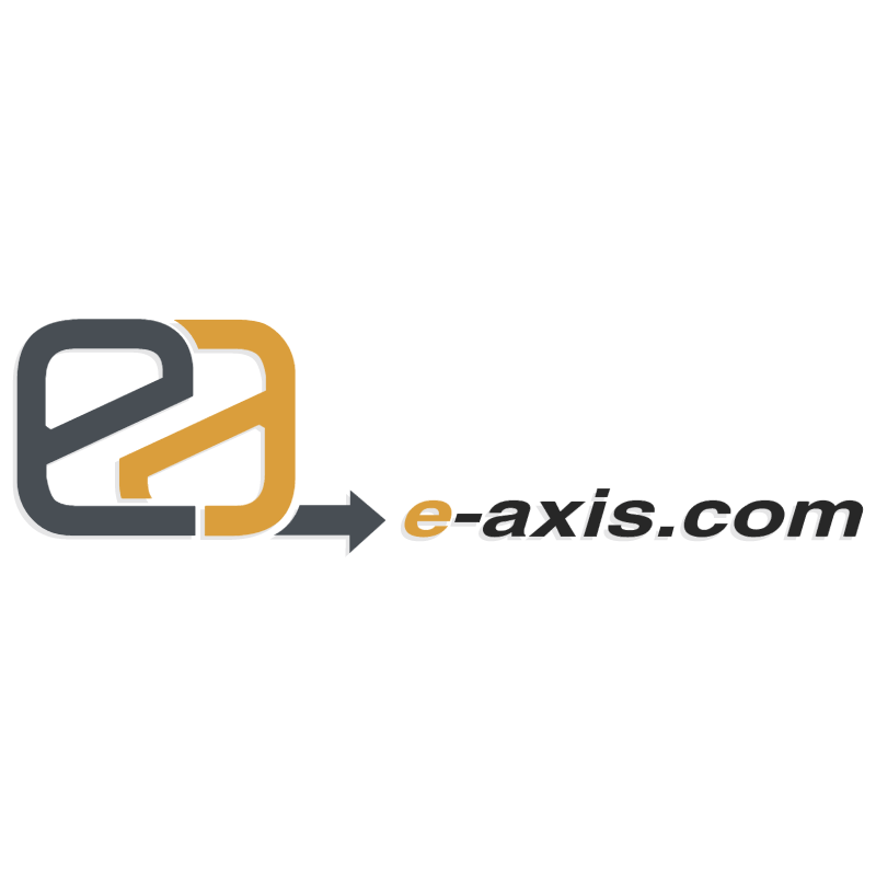 E axis com vector logo