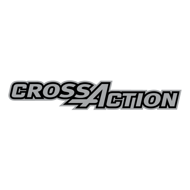 Gillette CrossAction vector logo