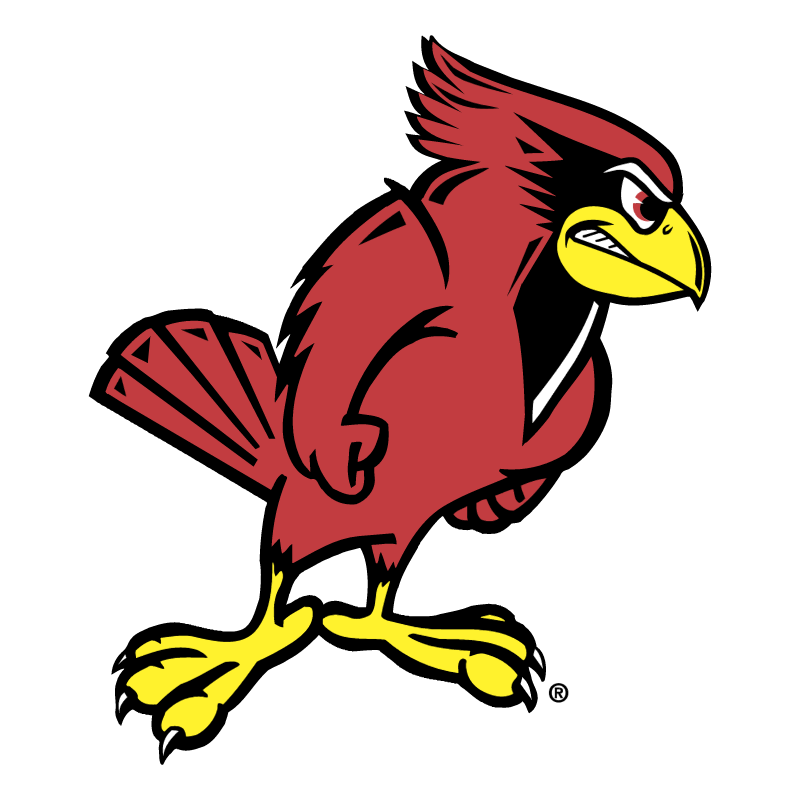 Illinois State Redbird vector