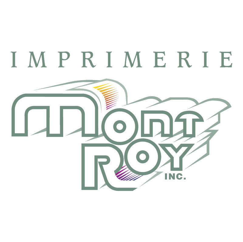 Imprimerie Mont Roy Inc vector