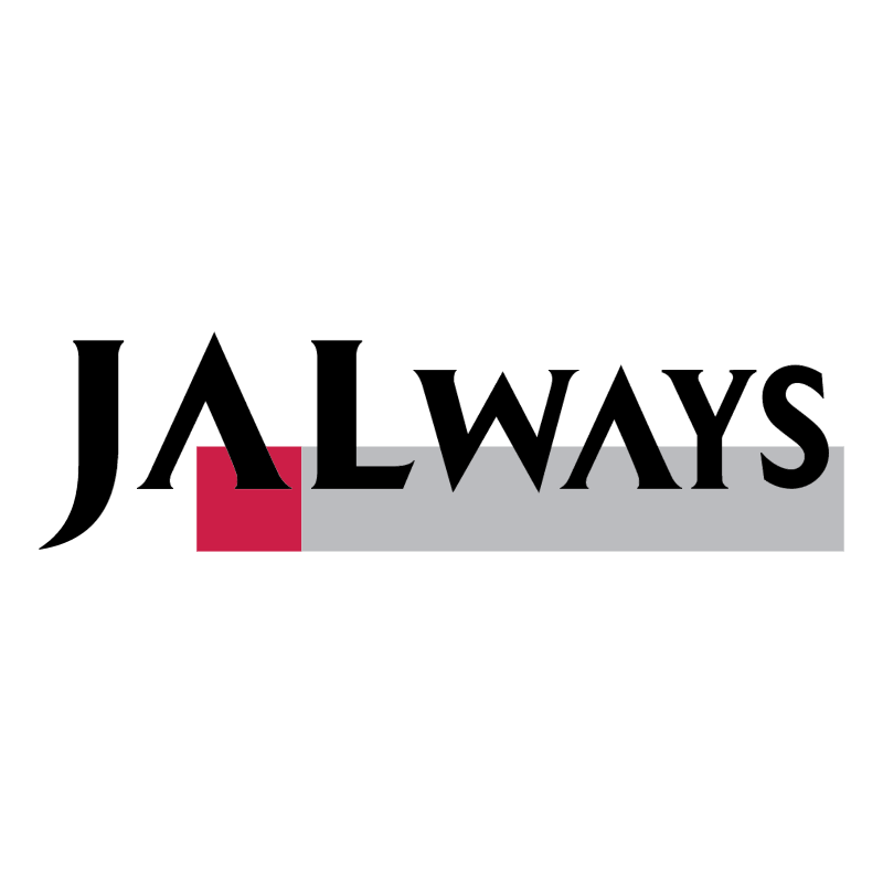 JAL Ways vector logo