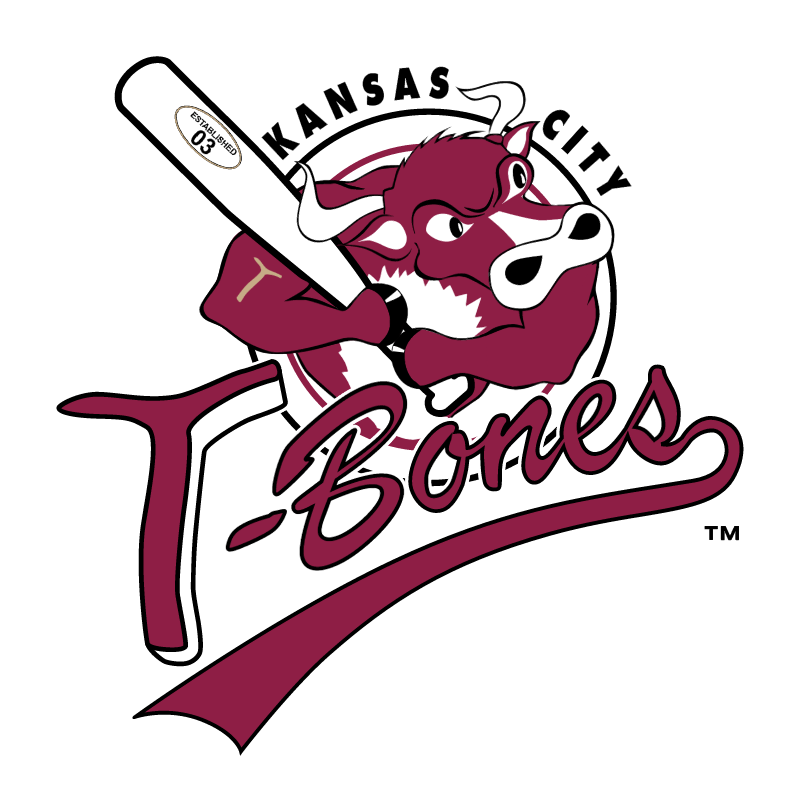 Kansas City T Bones vector logo