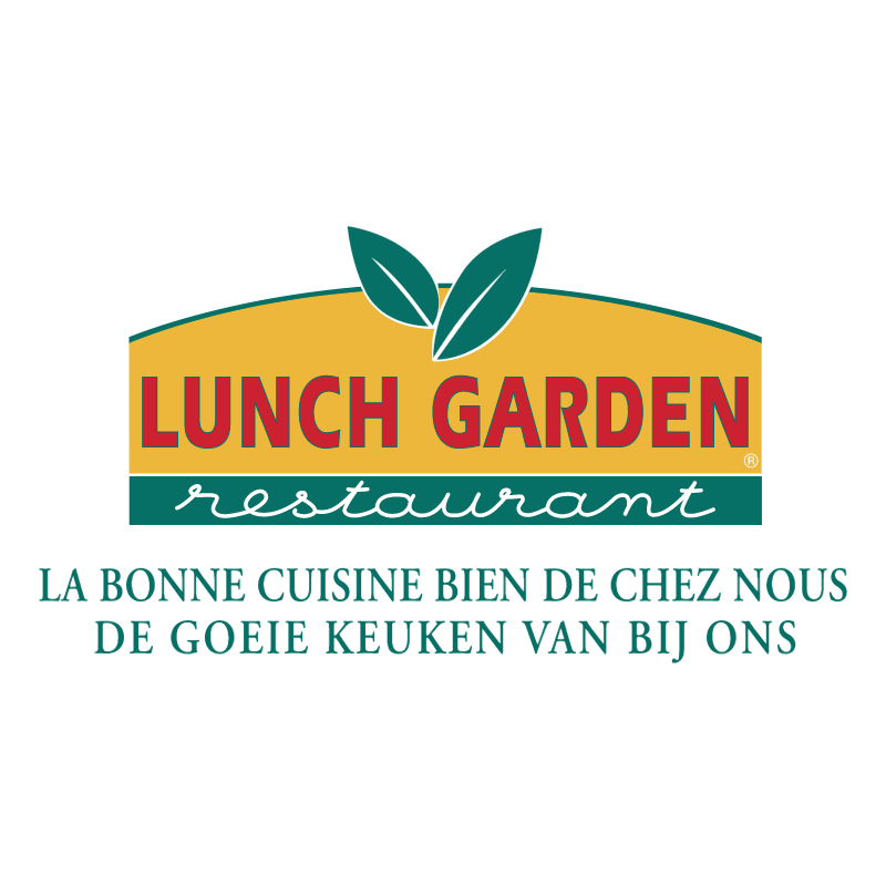 Lunch Garden vector