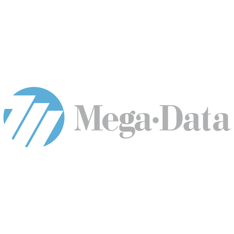 Mega Data vector logo