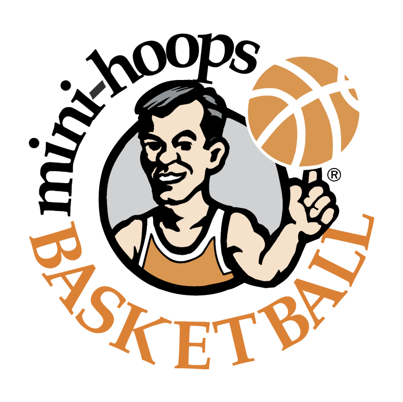 Mini Hoops Basketball vector