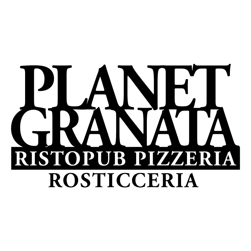Planet Granata vector logo