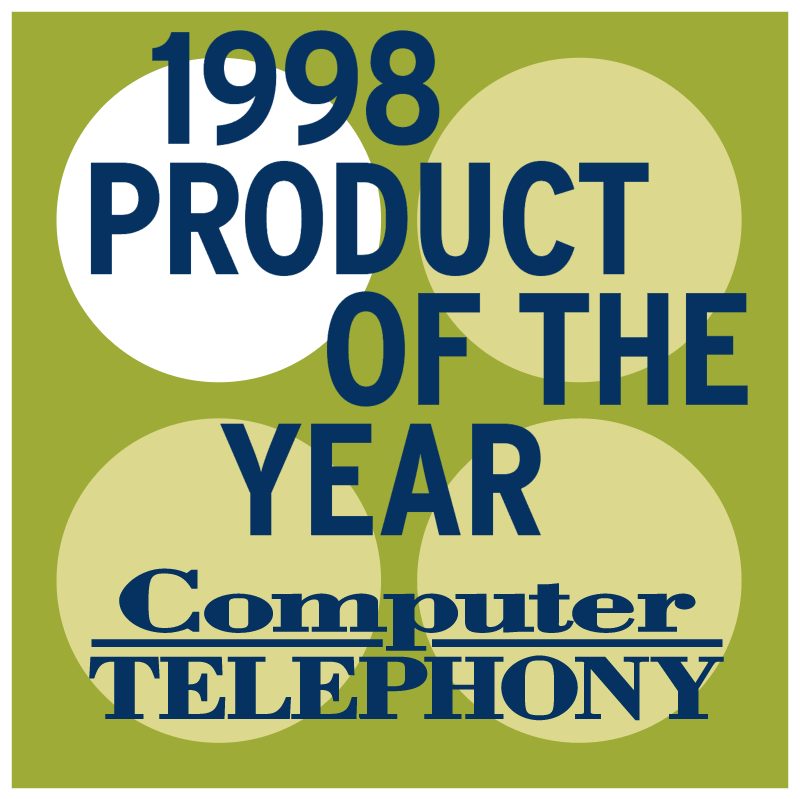 Product of the year 1998 vector