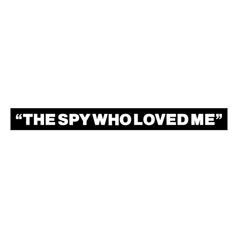 The Spy Who Loved Me vector