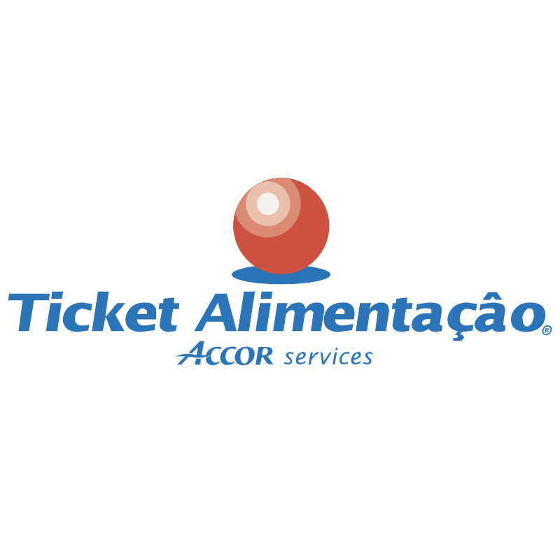 Ticket Alimentacao vector