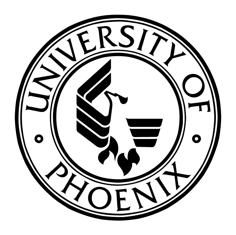 University of Phoenix vector logo