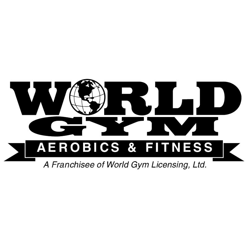 World Gym vector