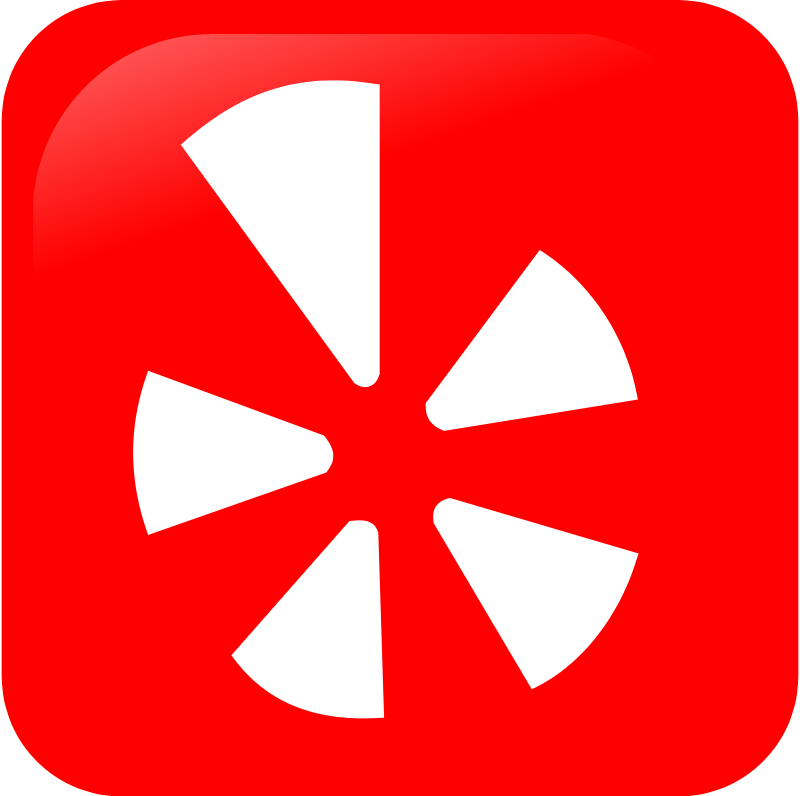 Yelp icon vector