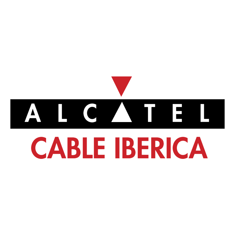 Alcatel Cable Iberica 70829 vector logo