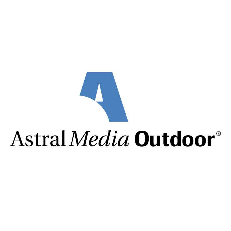 Astral Media Outdoor vector