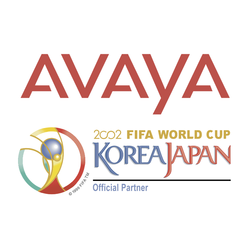 Avaya 2002 World Cup Sponsor 54595 vector