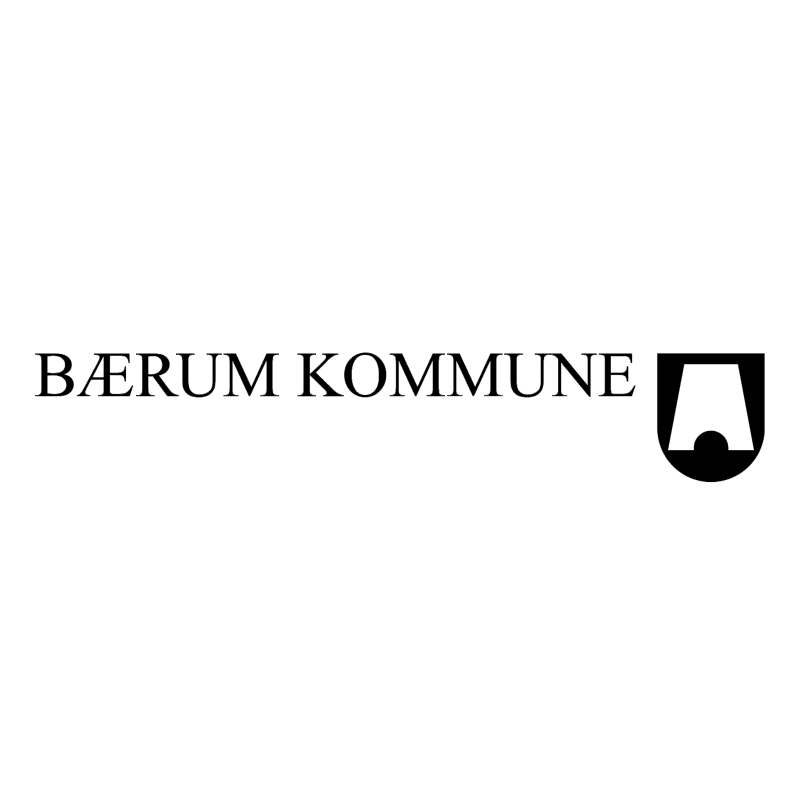 Baerum kommune 63032 vector