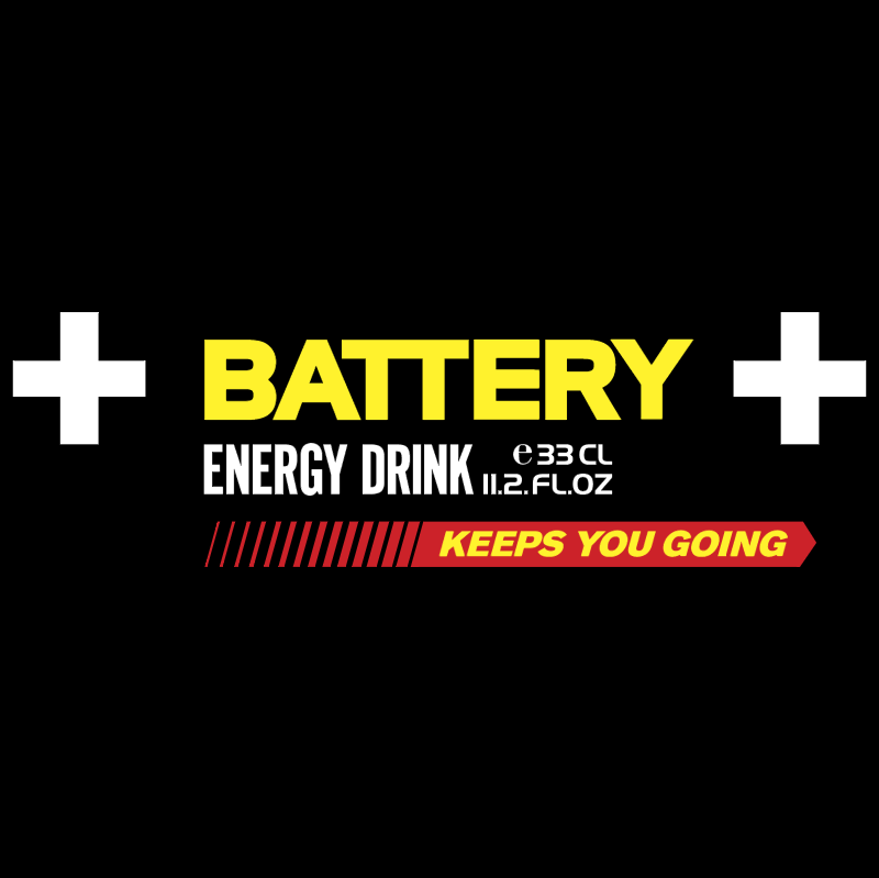 Battery vector logo