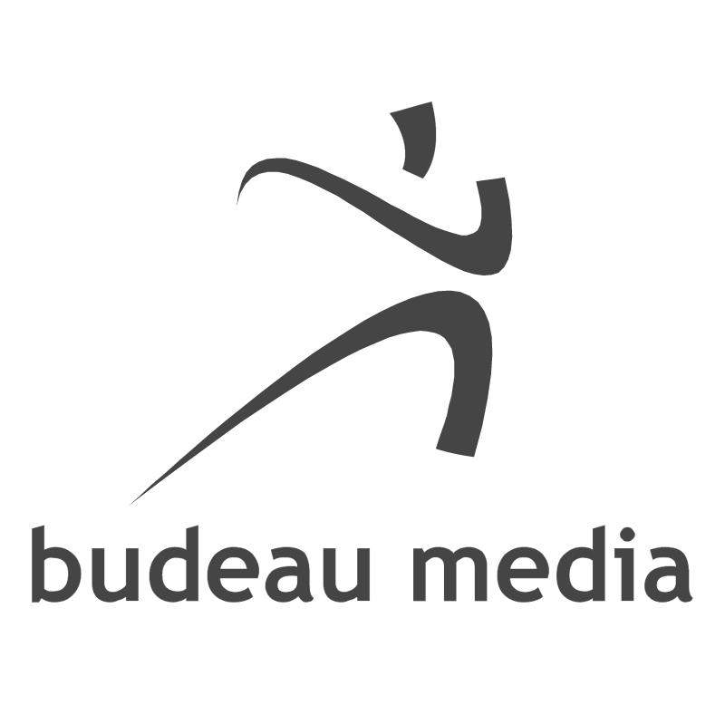 Budeau Media vector logo