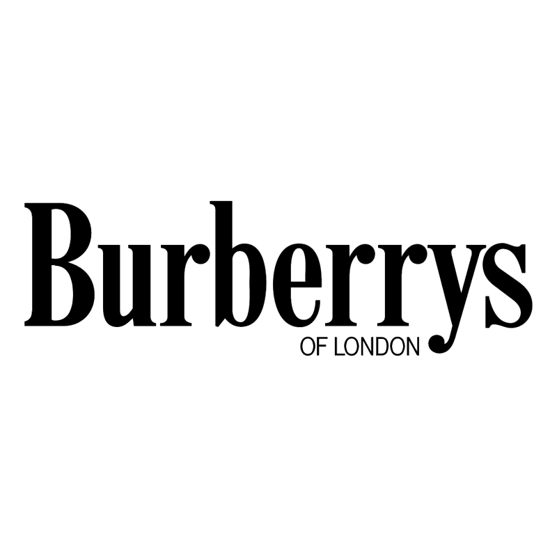 Burberrys of London