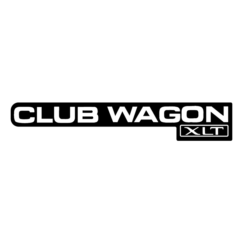 Club Wagon XLT vector