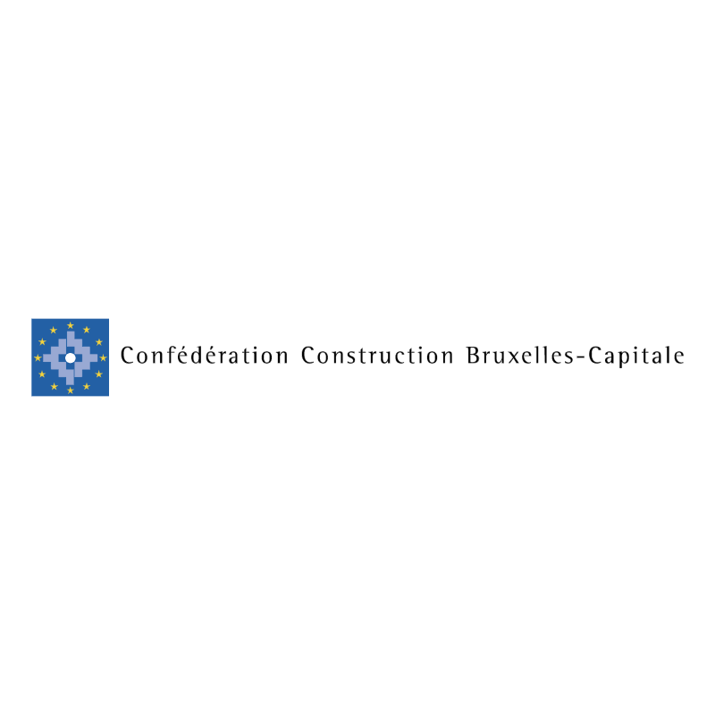 Confederation Construction Bruxelles Capitale vector logo
