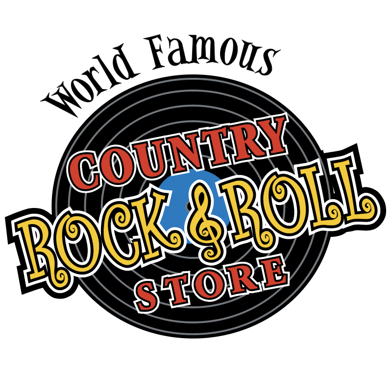 Country Rock n Roll Store vector