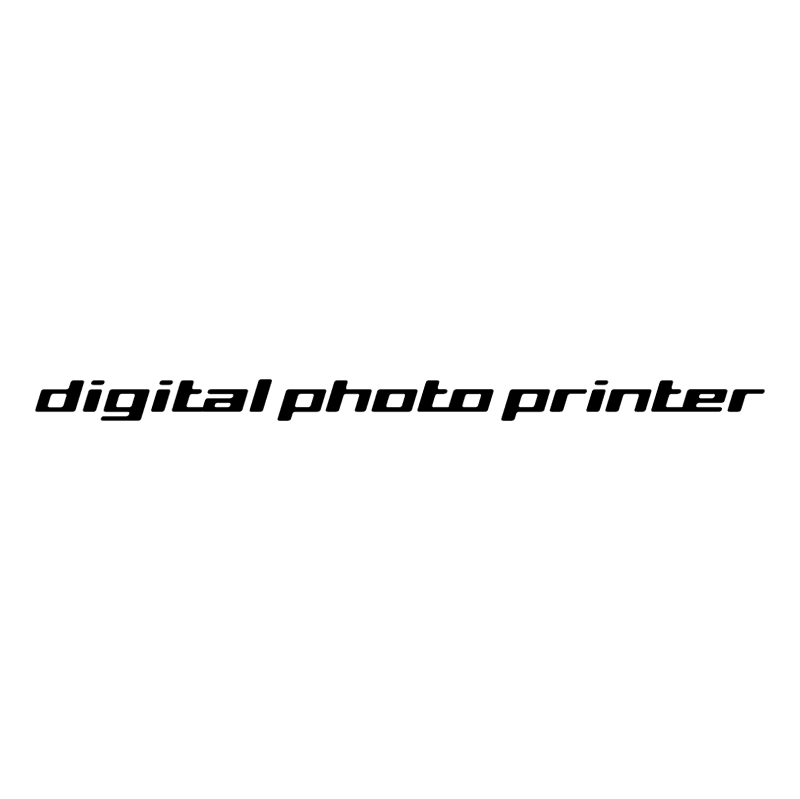Digital Photo Printer vector