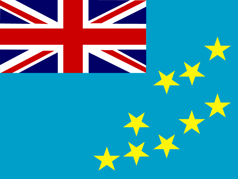 Flag of Tuvalu vector